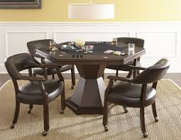 poker game table set red barrel studio 60 maguire dining game poker table set reviews