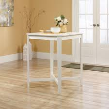 sauder original cottage counter height table white walmart com