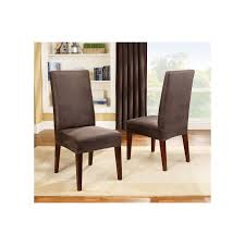 sure fit slipcovers stretch pique short dining room chair sure