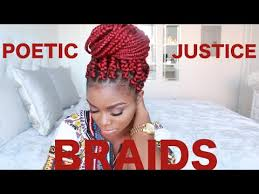 what hair do you use on poetic justice braids how to poetic justice braids on short natural hair big box