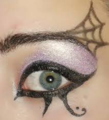 Spider Witch Halloween Costume Witch Makeup Idea Lighter Green Ugly Wizard