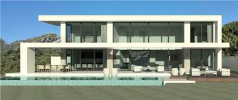 Architectural Plans For Sale Modern Turnkey Villas In Spain France Portugal