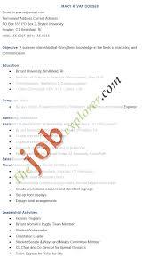 Marketing Resume Samples by Format Resume Format Marketing