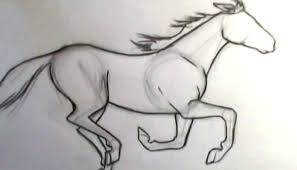 comic book video tutorials u2013 how to draw a horse galloping