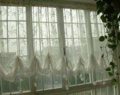 Shabby Chic Balloon Curtains by Pair Pom Pom Sheer Curtain Panels 52 U0027 U0027 Choose Your By Thenewhome
