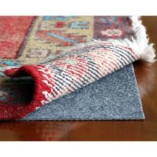 rugpadusa rug pro ultra low profile felt and rubber rug pad