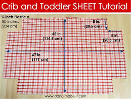 Diy Crib Bedding Set Crib Sheets Tutorial Store Bought Ones Always Seem To Shrink
