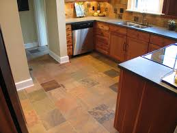 Cheap Kitchen Floor Ideas by Kitchen Kitchen Floor Ideas In Natural Themed Kitchen With Black