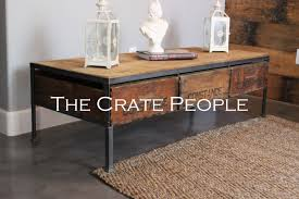 coffee table crate coffee table furniture diy ideas brown square