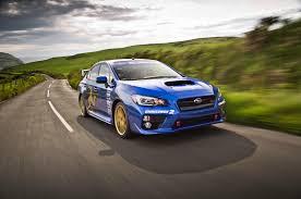 subaru wrx sti 2016 long term test review by car magazine 2015 subaru wrx sti breaks isle of man record again automobile