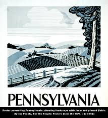 Pennsylvania travel posters images 64 best the great depression images depression wpa jpg