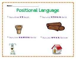 kindergarten positional language worksheet by kapturing kinder tpt