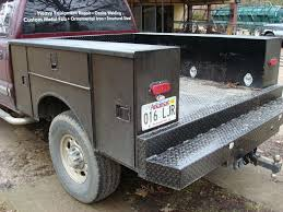 Utility Bed Trailer The Utility Bed On The Back Of A Friends Truck Was Built With