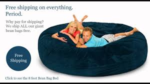 gigantic bean bags available at giant bean bags com youtube