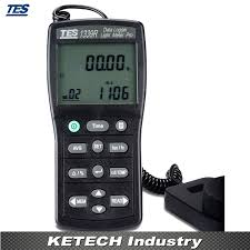 light intensity data logger data logger light meter tester 0 01 to 999900 lux pc data record