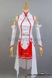 sword art online asuna cosplay costume sword art online cosplay