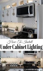 how to add lights kitchen cabinets how to install kitchen cabinet lighting installing kitchen