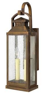 revere lantern hinkley lighting revere 2 light outdoor wall lantern reviews