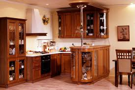 Kitchen Island As Table by Amazing Wooden Wardrobe For Kitchen Design With Wooden Kitchen