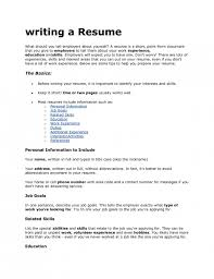 Should A Resume Be 2 Pages What Should Be Included In A Resume 14 Amusing What Should Not Be