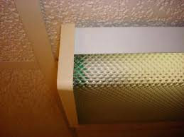 Fluorescent Ceiling Light Covers Plastic Light Fixture Plastic Covers Difficult To Remove Lens From