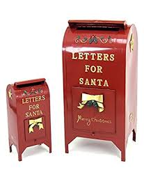 letters to santa mailbox letters for santa mailbox christmas decoration set of