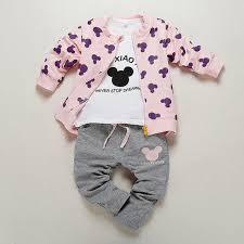 baby designer clothes 3 pcs new fashion 2017 autumn baby clothes set brand