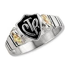 Black Hills Gold Wedding Rings by Black Hills Gold 12k Gold On Sterling Silver Ctr Ring Size 9 Ebay