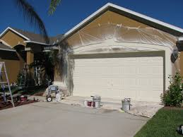 chalky and faded paint house painting project in melbourne fl