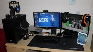 my gaming setup my pc u0026 review products late 2013 youtube
