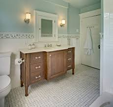 gorgeous palladian blue convention new york traditional bathroom image ideas with accent tile amish basketweave floor