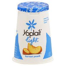 yoplait light yogurt ingredients yoplait light yogurt fat free harvest peach publix com
