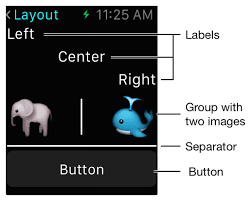 text layout programming guide app programming guide for watchos ui essentials