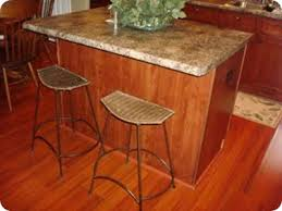 a beautiful kitchen island finally from thrifty decor