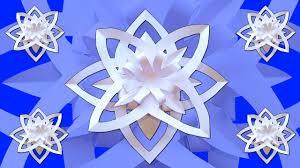 Homemade Decoration Diy Flower For Christmas Decor Homemade Decoration Snow Theme