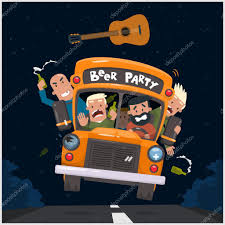 party bus clipart drunk stock vectors royalty free drunk illustrations depositphotos