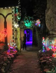rock city again transformed to the enchanted garden of lights