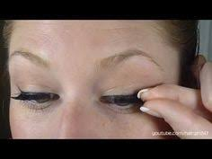 coquette in paris how to apply false eyelashes face time
