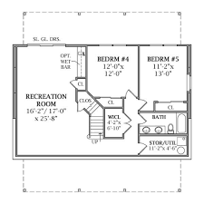 100 2 bedroom floor plans with basement 100 floor plans
