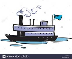 drawing of a cruise ship stock photo royalty free image 31461239