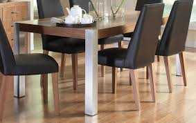 coaster faccini dining table medium walnut 106431 at homelement com