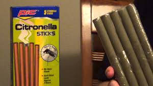 mosquito repellent for the yard citronella sticks youtube