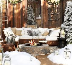 Pottery Barn Evergreen Walk 88 Best Luxe Lodge Christmas Images On Pinterest Christmas Ideas