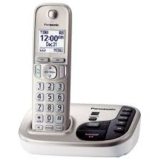 panasonic 1 handset expandable digital cordless answering system