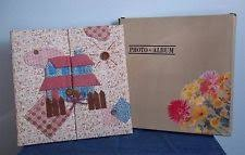 fabric photo album fabric vintage photo albums boxes ebay