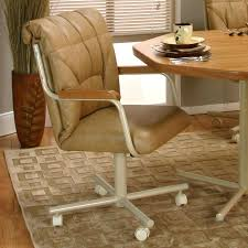 commercial dining room tables dining chairs casters swivel casual with chromcraft and arms uk