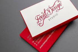 Event Business Cards Event Design Studio Business Cards Letterpressed U0026 Edge