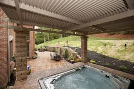exquisite canopies and gazebos for patio from black corrugated
