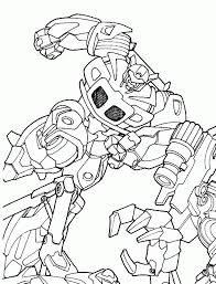 transformers kids coloring