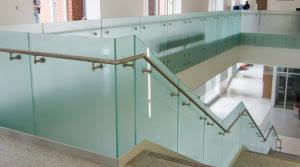 Frameless Glass Handrail China Good Price Balcony Frameless Tempered Glass Railing